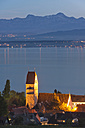 Germany, Baden Wuerttemberg, View of church at Lake Constance - SH000679