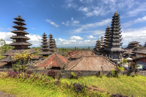 Indonesia, View of Pura Penataran Agung temple - AMF000104