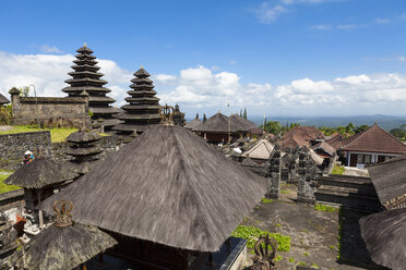 Indonesia, View of Pura Penataran Agung temple - AMF000050