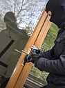 Germany, North Rhine Westphalia, Burglary breaking into family home - ON000184