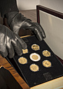 Germany, North Rhine Westphalia, Burglary stealing gold and silver coins - ON000188