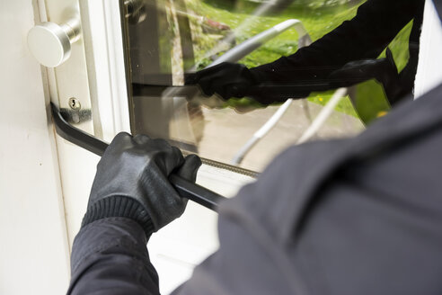Germany, North Rhine Westphalia, Burglary breaking into family home - ONF000197