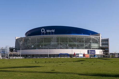 Germany, Berlin, View of O2 World - CB000059