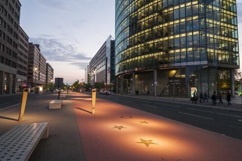 Germany, Berlin, Buildings at Potsdamer Platz - CB000081