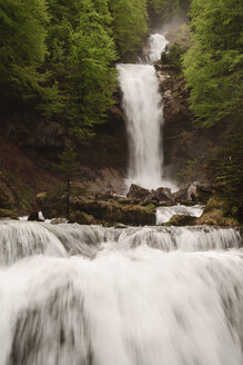 Switzerland, View of Giesbachfälle waterfall - BST000066