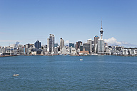 New Zealand, Auckland, View of city - GW002190