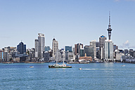 New Zealand, Auckland, View of city - GW002192