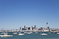 New Zealand, Auckland, View of city - GW002195