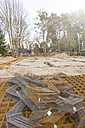Germanay, Brandenburg, Strip foundation with armoring at construction site - FK000188