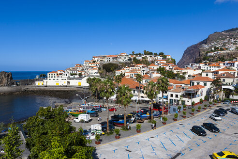 Portugal, View of Camara de Lobos near Funchal - AMF000204