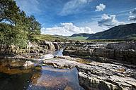 United Kingdom, Scotland, View of  Strath Beag river - ELF000166