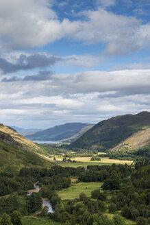 United Kingdom, Scotland, View of  Loch Broom at Northwest Highlands - ELF000189