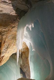 Austria, Werfen, View of Eisriesenwelt Ice Cave - SIE003874