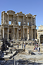 Turkey, View of Library of celsus - LH000135