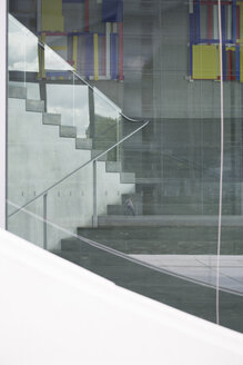 Germany, Berlin, Stairs of office building - FKI000024