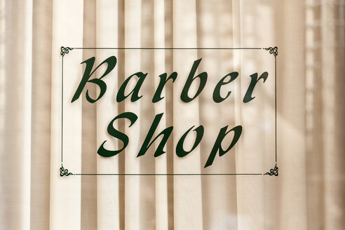 Italy, Rome, Barber shop sign - HAF000091