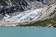 Norway, View of Jostedalsbreen Glacier - HWO000004