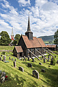 Norway, Stave Church from Roedven - HWO000033