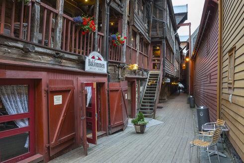 Norway, Bergen, Hanseatic commercial buildings - HWO000059