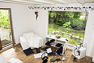 Germany, North Rhine Westphalia, Interior of living room after burglary - ONF000213
