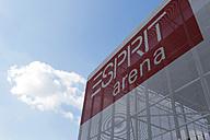 Germany, Dusseldorf, Soccer stadium building - JAT000080