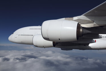 Germany, Hamburg, View of airbus A 380 - 800 - RD001107