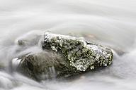 Germany, Hesse, Ice on rock - SR000310