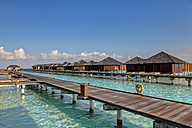 Asia, Water bungalows of Paradise Island - AM000578