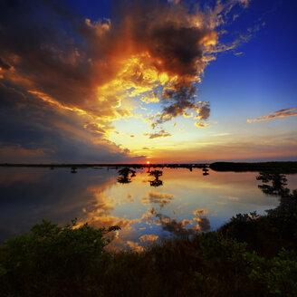USA, Florida, Titusville, View of sunset - SMAF000144