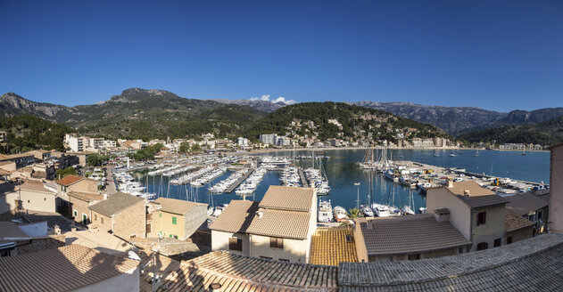 Spain, Mallorca, View of Port de Soller - STD000006