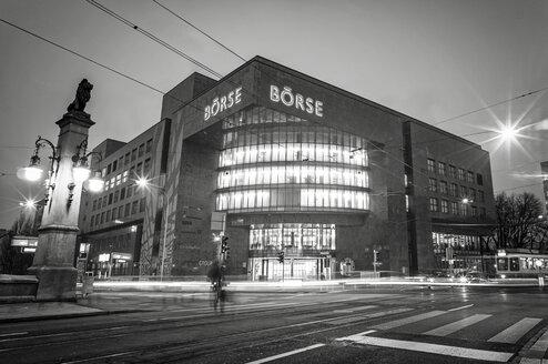 Switzerland, Zurich, View of Stock Exchange building - JHE000017