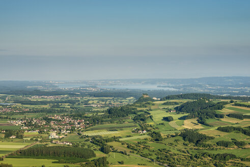 Germany, Baden Wuerttemberg, View of Hegau landscape and  Lake Constance - EL000193