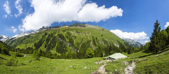 Germany, Bavaria, View of Allgaeu High Alps - STS000048