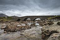 United Kingdom, Scotland, View of Sligachan Bridge - EL000212