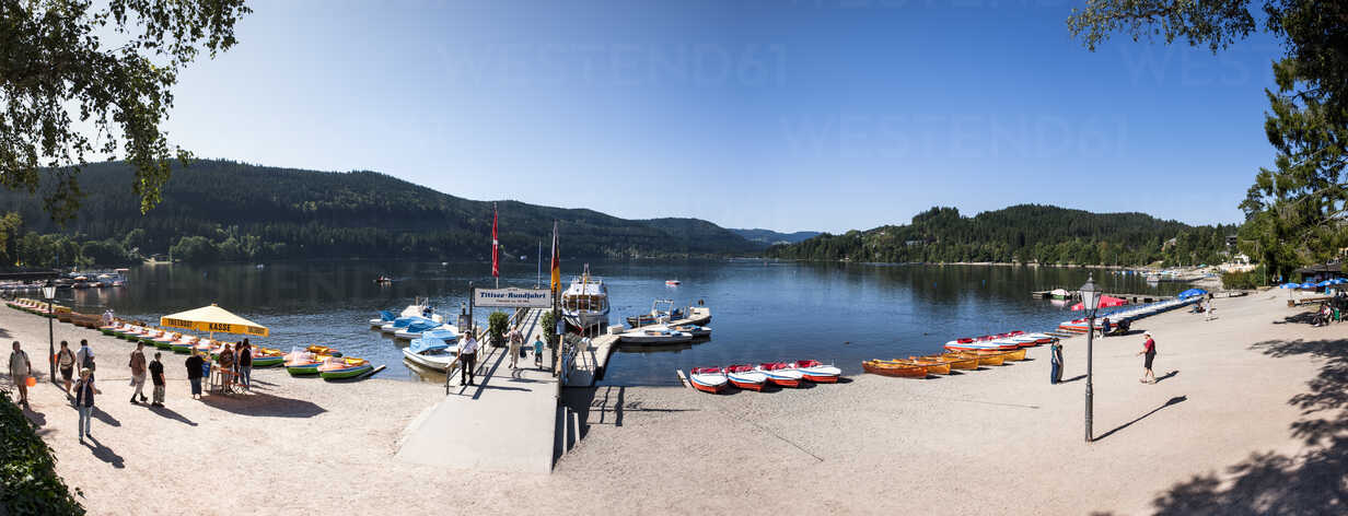 Germany Baden Wuerttemberg Titisee Neustadt View Of Lake Titisee Am000648 Martin Moxter Westend61