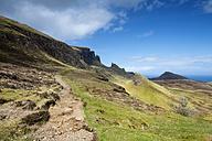 United Kingdom, Scotland, View of Hiking trail - ELF000231