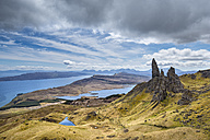 United Kingdom, Scotland, View of Storr - ELF000245