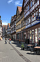 Germany, Baden Wuerttemberg, View of timbered frame house - AM000689