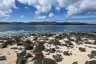 United Kingdom, Scotland, View of Coral beach near Dunvegan - ELF000255
