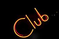 Neon sign club - SKF001474