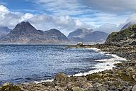 United Kingdom, Scotland, Isle of Skye,  View of Cuillin Hills - ELF000278