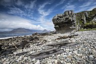 United Kingdom, Scotland, Isle of Skye,  View of Cuillin hills - ELF000280