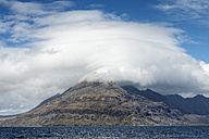 United Kingdom, Scotland, Isle of Skye,  View of Cuillin hills - ELF000286
