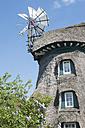 Germany, Schleswig Holstein, View of windmill at Naturschutzgebiet Geltinger Birk - MJ000281
