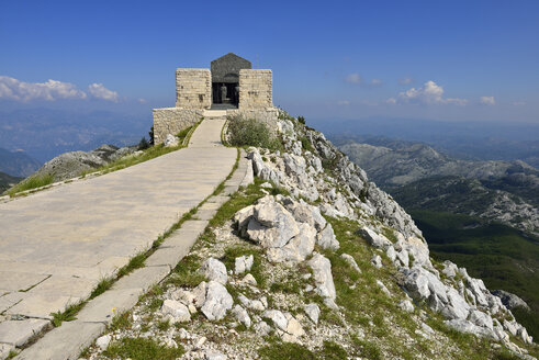 Montenegro, View of Lovcen National Park, Njegusi Mausoleum - ES000434