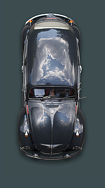 Germany, Hesse, Vintage car of VW käfer 1302 L - BSC000314 -  Bernados/Westend61