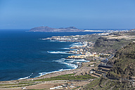 Spain, Las Palmas, View of atlantic coast - MAB000133