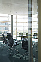 Germany, Hannover, Interior of conference room - KFF000210