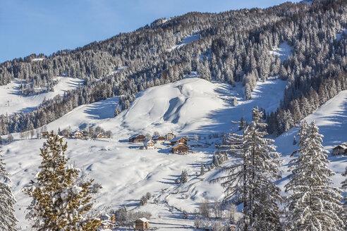 Italy, Dolomites, View of Alta Badia in La Villa - MABF000142