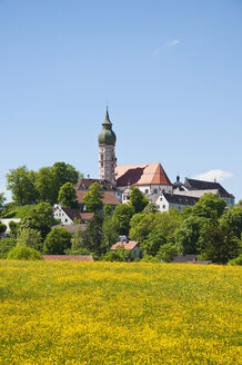 Germany, Bavaria, View of Andechs Abbey - UMF000624